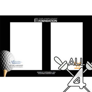template, photo booth, golf, ball