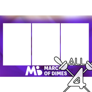 template, photo booth, march of dimes