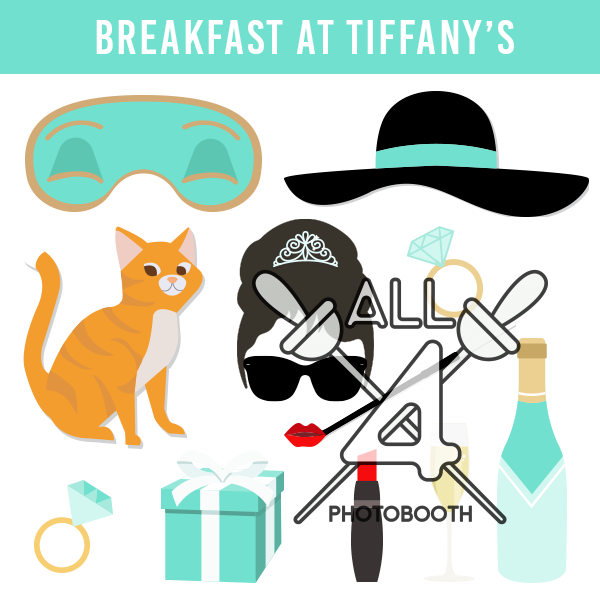 digital props, breakfast at tiffany's, breakfast