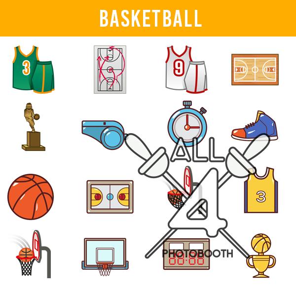 digital props, basket